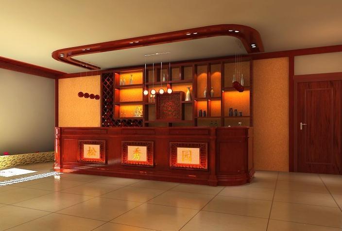 中式风格宾馆装修
