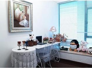 温馨淡雅的儿童房装修