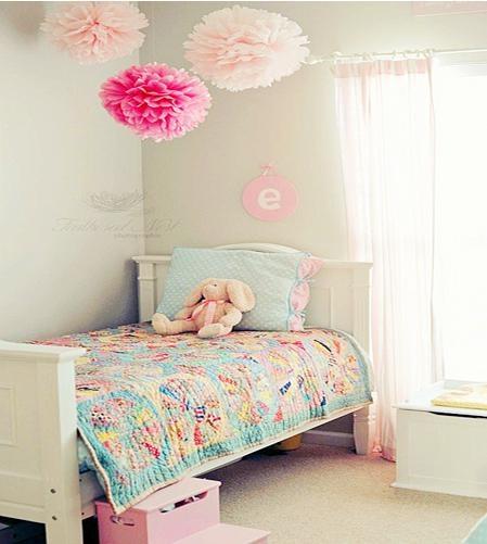 低调素雅的欧式儿童房