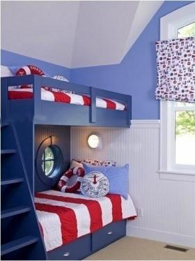 儿童床图片_双层儿童床效果图
