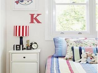白色的儿童房空间