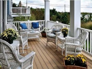 大户型卧室阳台的设计