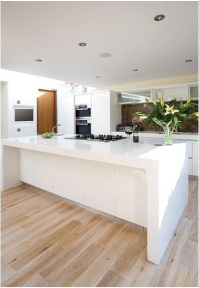 高贵大气的开放式厨房设计