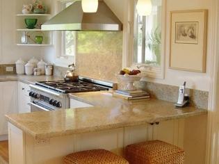 干净整洁的小户型厨房