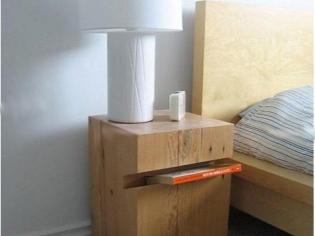 简单实用的床头柜设计