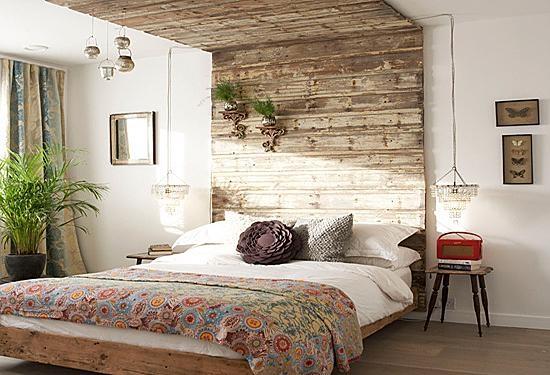 创意的卧室背景墙设计