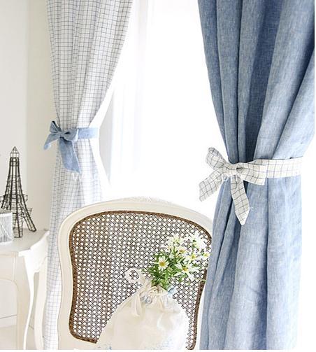 小清新的窗帘设计