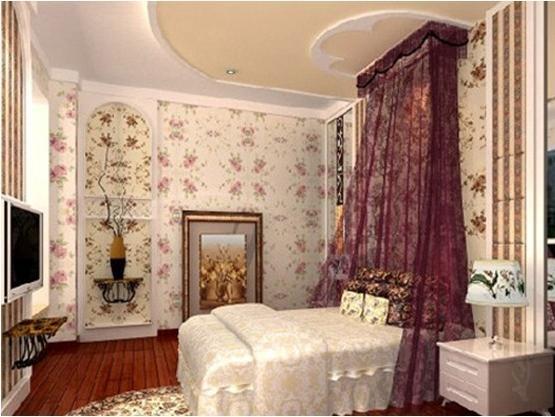 韩式田园卧室的装修