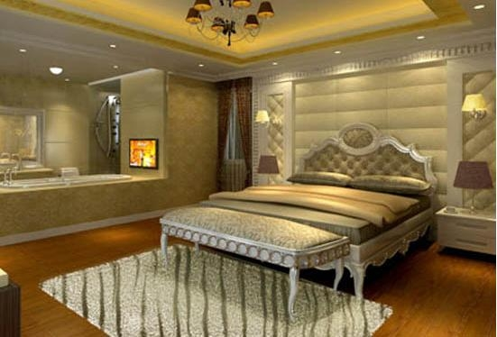 设计理念:传统的欧式壁纸在家居装饰中常常体现出的是别具一般风格的复古与奢华。壁纸的选择,成为欧式家居风采不可缺少的一部分,往往在欧式格调的家居装饰中,我们往往会发现这种繁复的花艺设计的卧室壁纸。淡雅的暖色系列壁纸总是能呈现出一种独特的现代感与高贵感。 隐藏更多