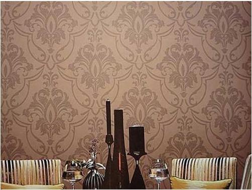 欧式风格_大气豪放的欧式花纹壁纸