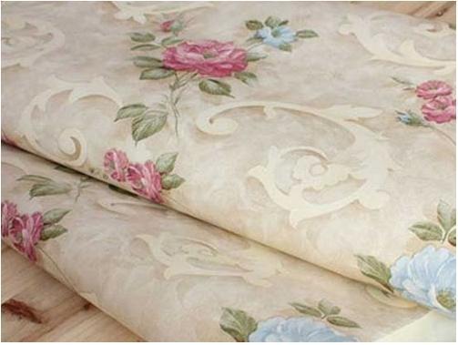 欧式风格_田园风欧式花纹壁纸