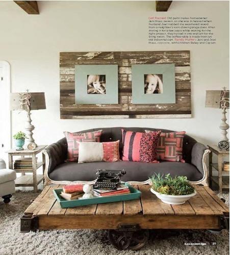 小清新的美式客厅