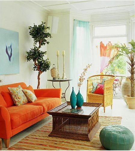 波西米亚的客厅装修效果