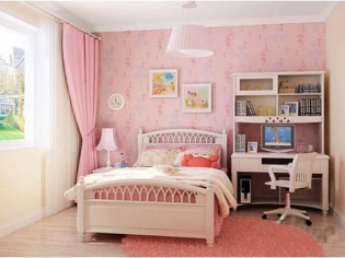 梦幻浪漫的儿童房效果图