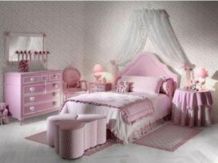 纯美可爱的儿童房装修