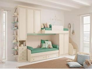 简约欧式儿童房装修设计