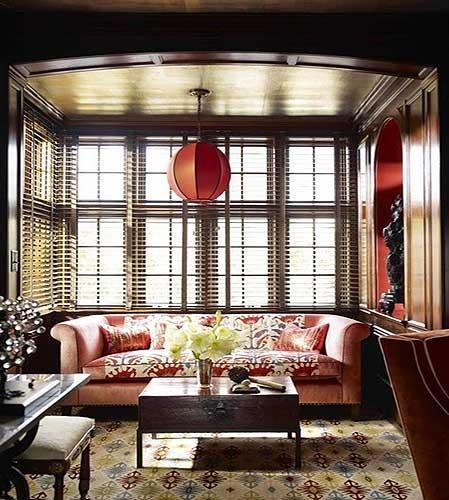 美式客厅装修丰富的层次感