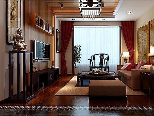 中国风客厅装修效果图