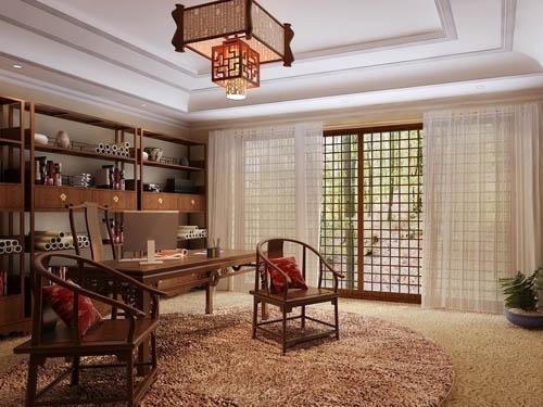 传统的客厅装修效果图