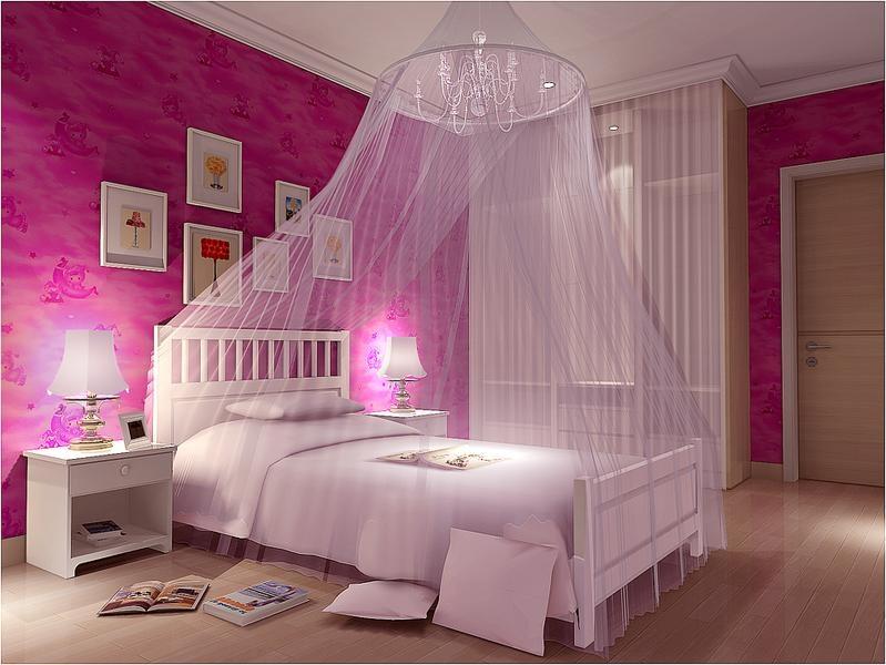 小公主儿童房装修效果图