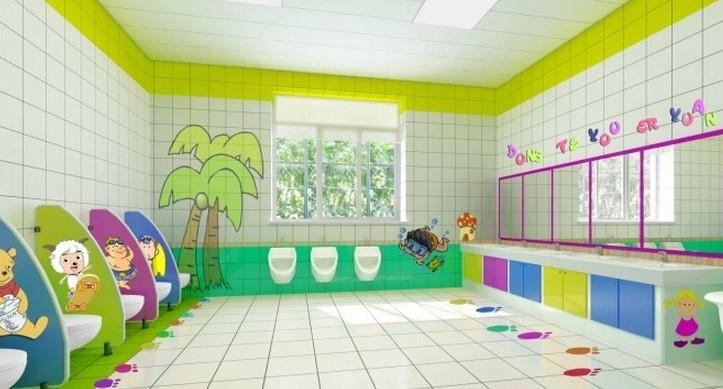 现代简约_幼儿园卫生间设计 幼儿园墙面布置图片
