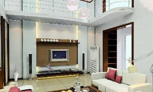 那就是客厅电视背景墙,对于家装电视墙效果图设计来说,电视墙设计更加