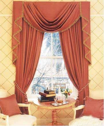 古典式窗帘装修效果图