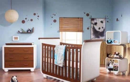 明快的婴儿房装修