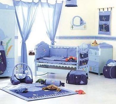 梦幻般的婴儿房颜色