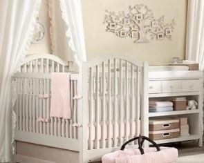 高贵典雅的婴儿房装修