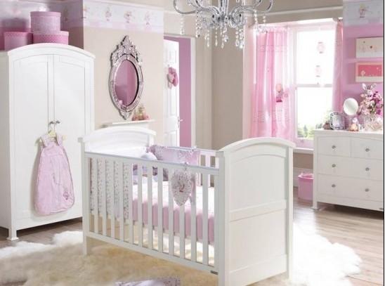 小小公主的婴儿房布置