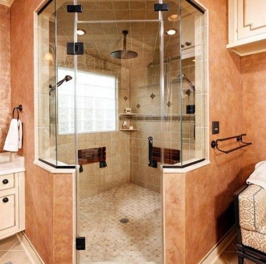 釉面砖卫浴效果图