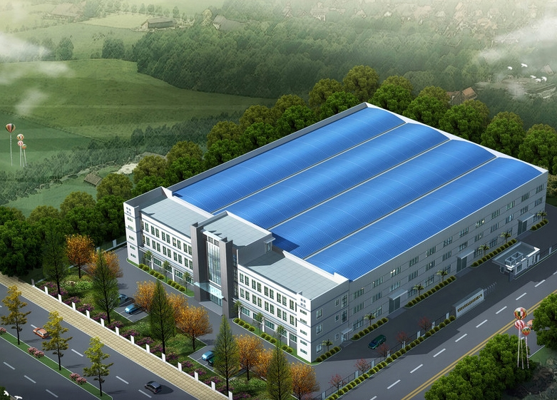 钢结构厂房图集_装修效果图-x团装修网