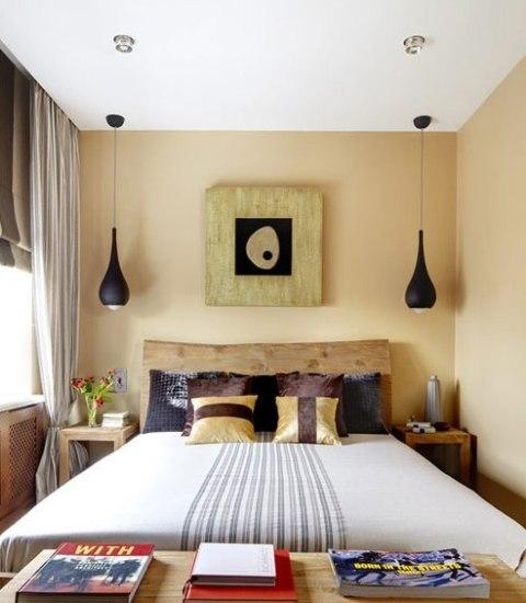 自然纹理卧室背景墙装修效果图