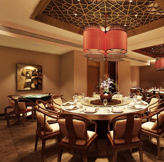 传统中式餐馆装修设计