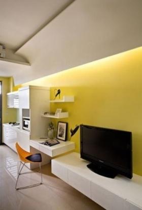 室内单身公寓装修效果图