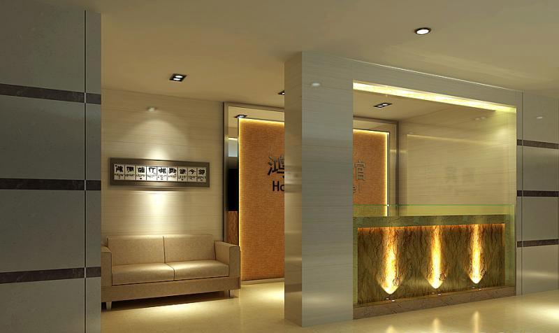 现代宾馆装修效果图
