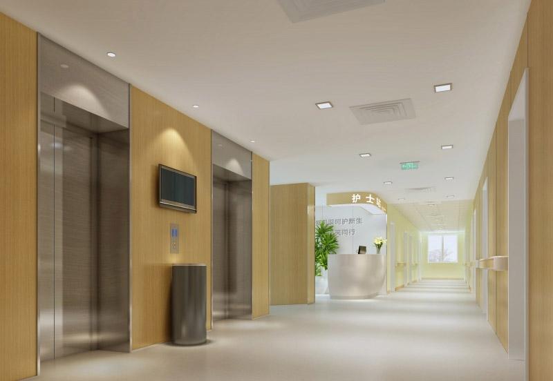 现代医院装修图片