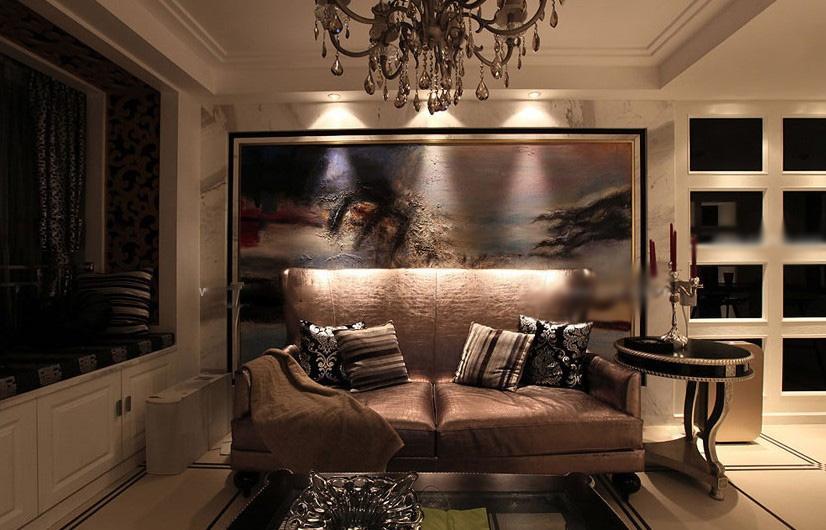 客厅装潢效果图