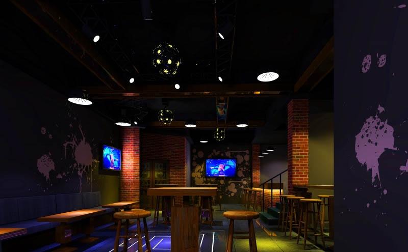酒吧设计风格装修效果图