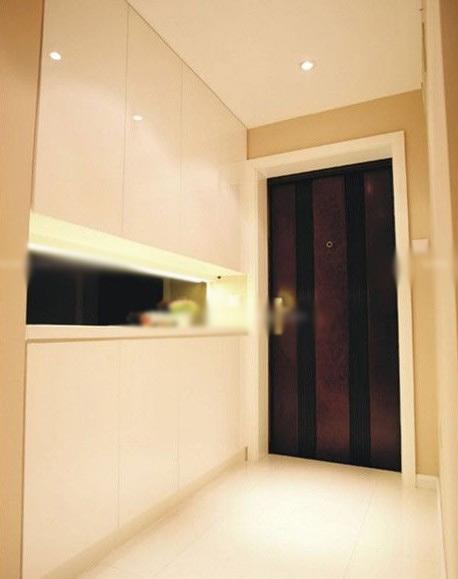 客厅进门创意鞋柜玄关装修效果图 高清图片