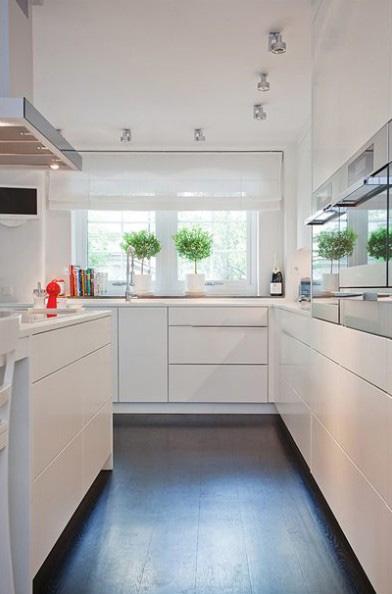 三室两厅简欧风格厨房_开放式客厅厨房图片