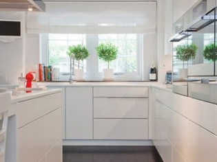 开放式客厅厨房效果图