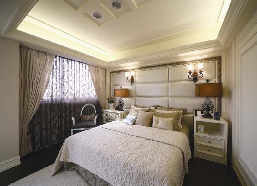 卧室壁灯效果图
