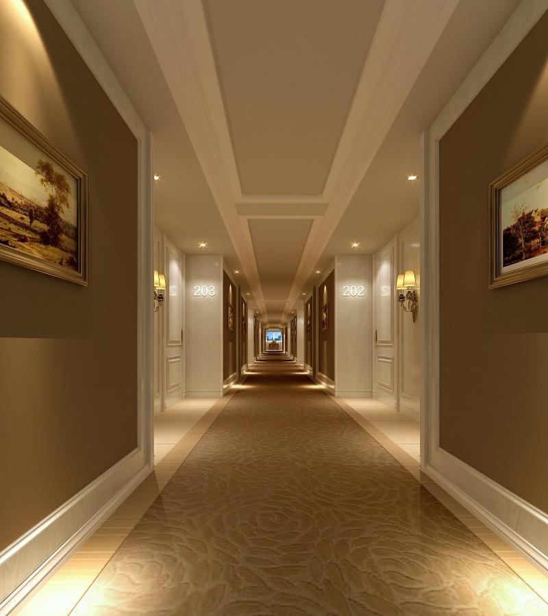 酒店走廊装修效果图
