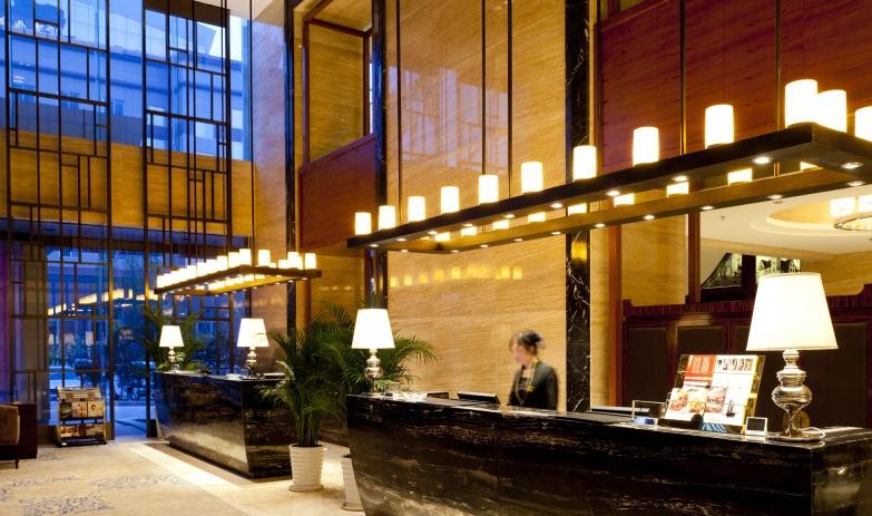 现代酒店大堂设计