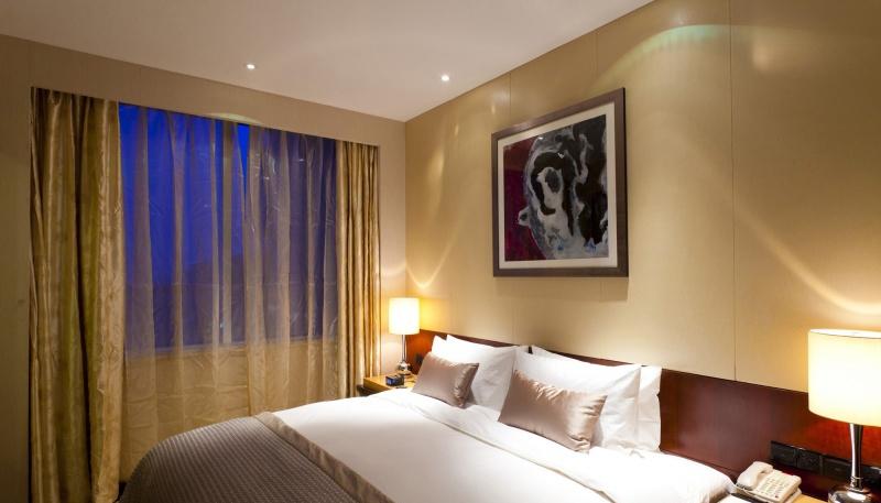 酒店客房设计装修效果图