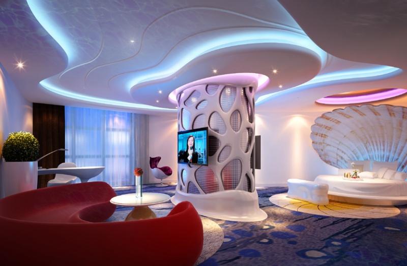 时尚酒店设计装修效果图
