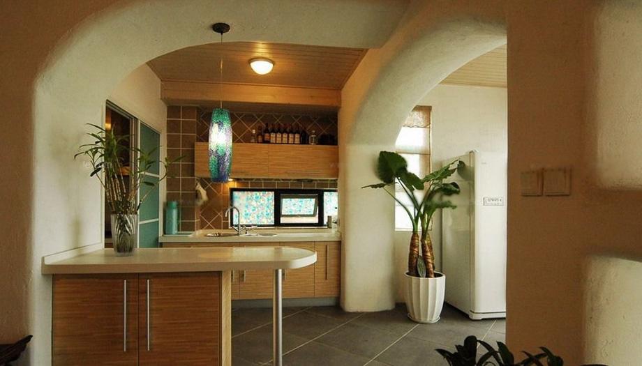 吧台的设计中我                    设计,将这样的小地方也打造的图片