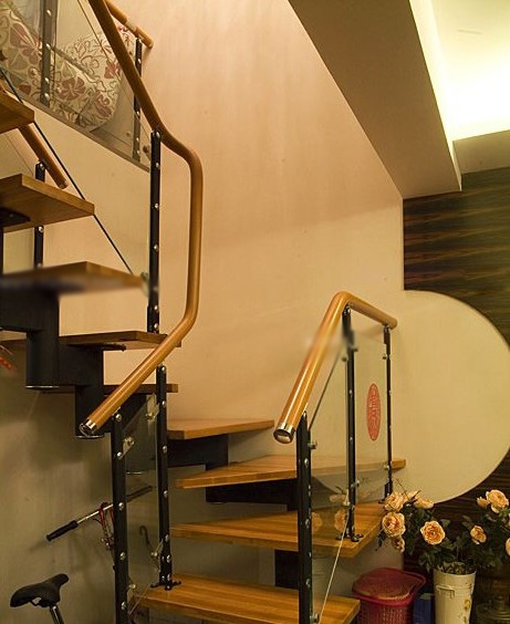 跃层楼梯装修图_装修效果图-x团装修网